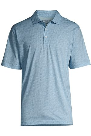 Peter Millar Men's Classic Cotton Polo Shirt - Larimar - Size Large