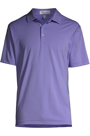 Peter Millar Men's Jubilee Performance Jersey Polo Shirt - Beta - Size Medium