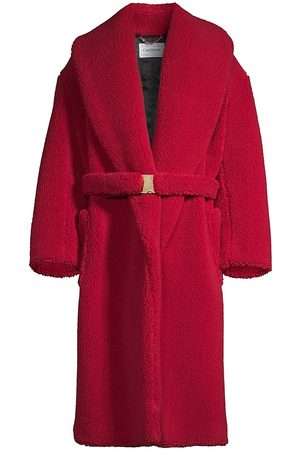 Casablanca Men's Recycled Faux Shearling Robe Coat - Polyester - Size XL