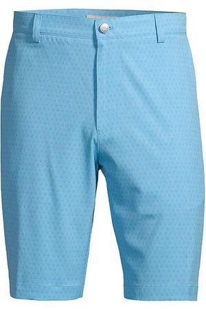 Peter Millar Men's Shackleford Performance Hybrid Shorts - Beta - Size 34