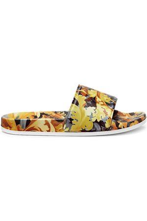 Versace Little Girl's & Girl's Print Slide Sandals - - Size 5 (Child)