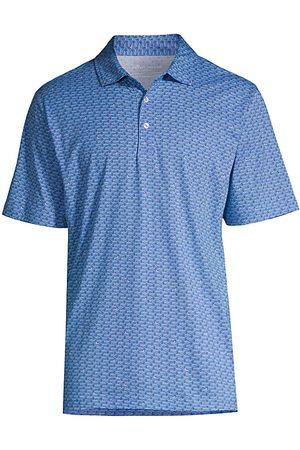 Peter Millar Men's Classic Cotton Polo Shirt - Plumbago - Size XXL