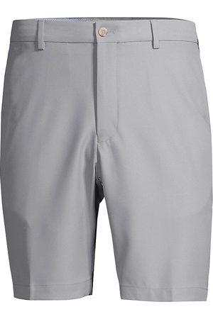 Peter Millar Men's Salem Performance Twill Shorts - Gale Grey - Size 36