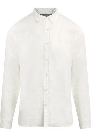 Joes Jeans Men Denim - Men's Linen Button-Down Shirt - Brilliant - Size Medium