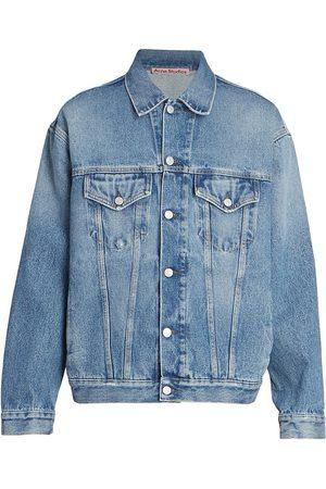 Acne Men's Robin Denim Jacket - Mid - Size 36