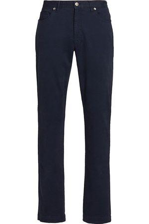 Saks Fifth Avenue Men's Slim-Fit Five-Pocket Pants - Dress - Size 31