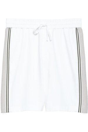 THEORY Men's Ace Drawstring Shorts - Multi - Size Medium