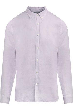 Joe's Jeans Men's Linen Button-Down Shirt - Orchid Hush - Size XL