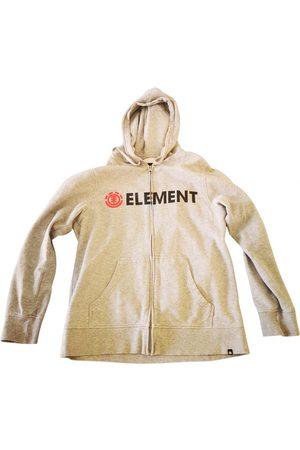 Element Grey Cotton Knitwear & Sweatshirt