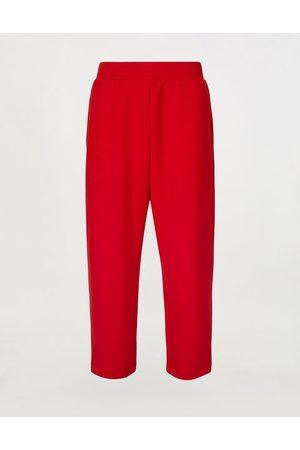 FERRARI STORE Men Sweatpants - Men's double-face stretch fleece joggers