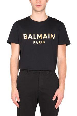 Balmain Men T-shirts - Crew neck t-shirt