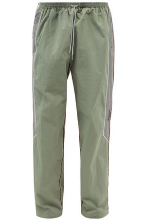 Y / PROJECT Lazy Layered-front Shell Track Pants - Mens