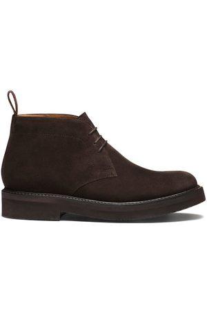 Grenson Clement Suede Desert Boots - Mens