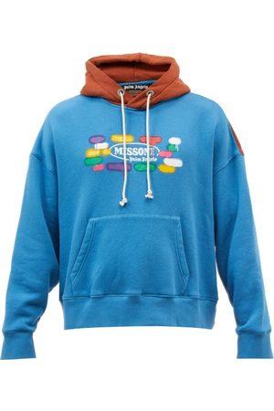 Palm Angels X Missoni Hooded Cotton-jersey Sweatshirt - Mens