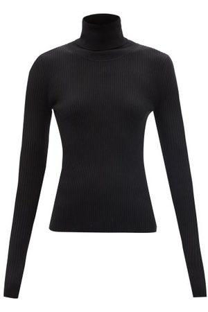 Joseph Roll-neck Ribbed Merino-wool Blend Sweater - Womens