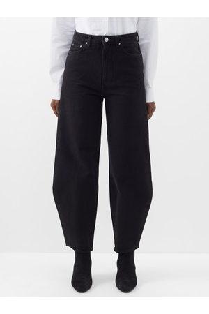 Totême High-rise Barrel-leg Jeans - Womens