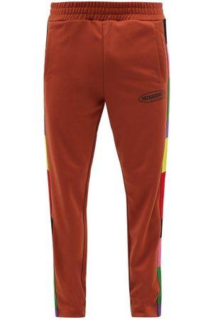 Palm Angels Men Sweatpants - X Missoni Striped Jersey Track Pants - Mens