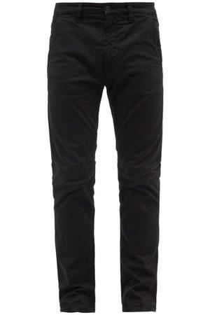 Nudie Jeans Men Chinos - Slim Adam Organic Cotton-blend Chino Trousers - Mens