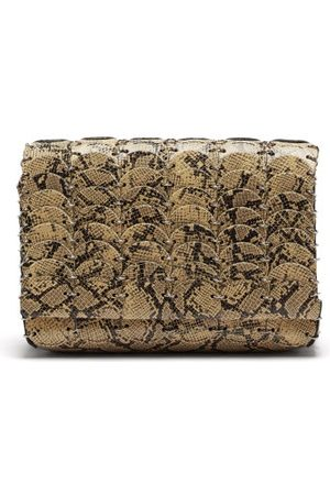 Paco rabanne Pacoio Small Leather Cross-body Bag - Womens - Python