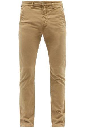 Nudie Jeans Slim Adam Organic Cotton-blend Chino Trousers - Mens