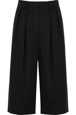 The Row Lisa cotton-blend culottes