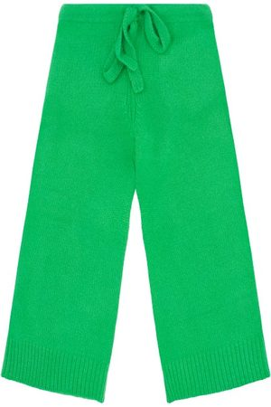 The Elder Statesman Skater Cropped Cashmere Trousers - Womens