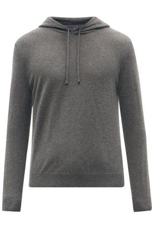 Ralph Lauren Men Sweatshirts - Cashmere Hooded Sweatshirt - Mens - Grey