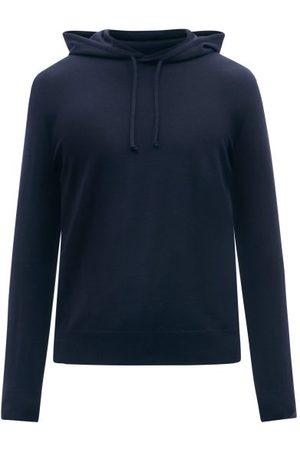 Ralph Lauren Cashmere Hooded Sweatshirt - Mens - Navy