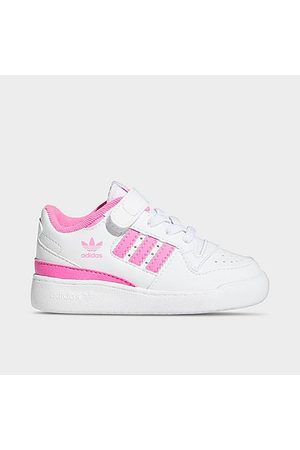 adidas Casual Shoes - Girls' Toddler Originals Forum Low Casual Shoes Size 5.0 Leather
