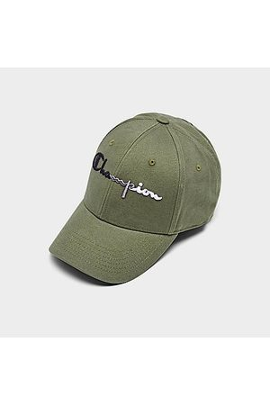 Champion Women Hats - Classic Twill Adjustable Hat in /Olive Cargo Cotton/Twill