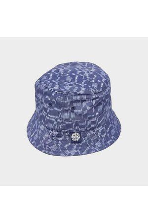 Superdry Hats - Bucket Hat in Blue/Ikat Pop Size Medium/Large Cotton