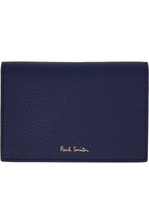 Paul Smith Men Wallets - Indigo Signature Stripe Pouch Card Holder