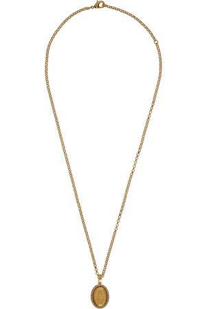 Dolce & Gabbana Gold Pendant Necklace