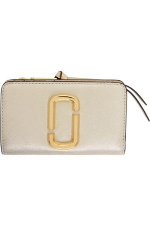 Marc Jacobs Silver & Gold 'The Snapshot' Compact Wallet