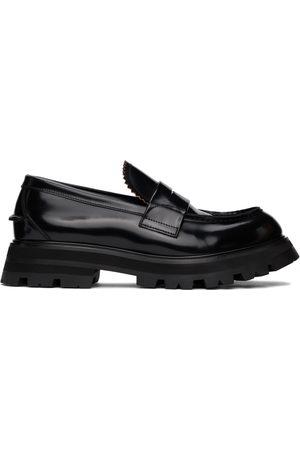 Alexander McQueen Black Worker Loafers