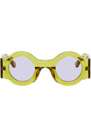 DRIES VAN NOTEN Linda Farrow Edition Round Sunglasses