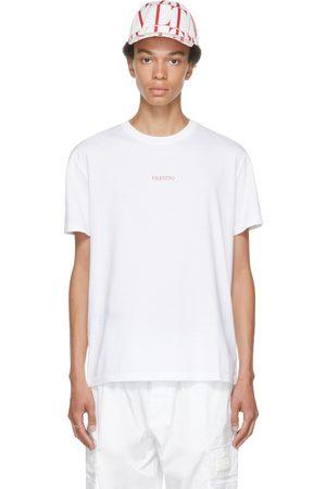 VALENTINO White & Red Logo T-Shirt