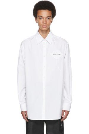 VALENTINO White & Black Garden Shirt