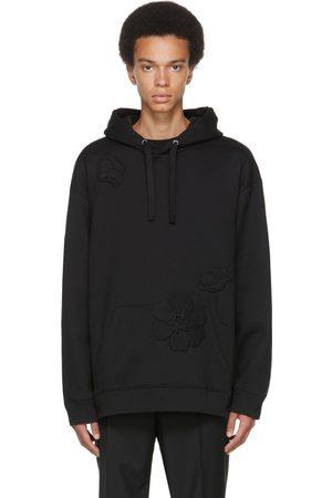 VALENTINO Black Garden Hoodie