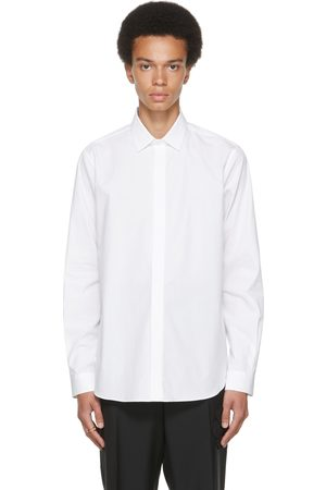 VALENTINO White Cotton Shirt