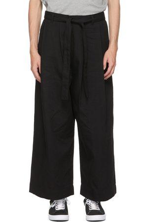 Naked & Famous Denim SSENSE Exclusive Wide Pants