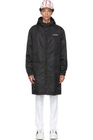 VALENTINO Black & White Garden Coat