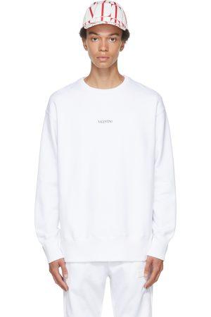 VALENTINO White Logo Sweatshirt