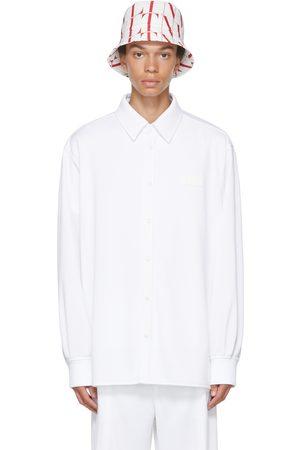 VALENTINO White Jersey Shirt