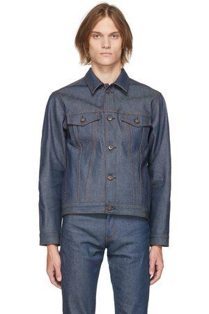 Naked & Famous Denim Blue Denim Stealth Pocket Selvedge Jacket