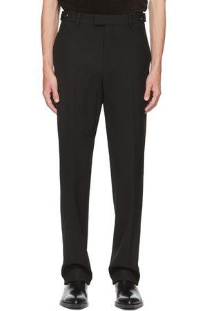Bottega Veneta Black Wool Twill Trousers
