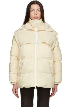 Bottega Veneta Off-White Down Puffer Jacket