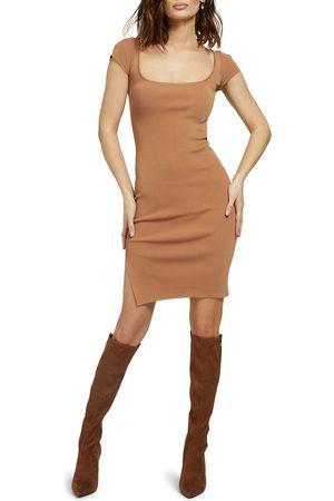 GUESS Women's Rib Sweater Dress