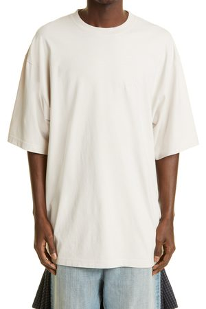 Balenciaga Men's Men's Hospitality Logo Organic Cotton Boxy T-Shirt