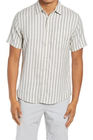 Faherty Men's Breeze Stripe Stretch Short Sleeve Button-Up Shirt